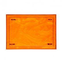 Dune tacka 46x32x2,5cm pomarańczowa