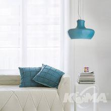 Aladino lampa wisząca 1x60W E27 230V niebieska/azzurro