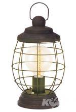 Bampton lampa stołowa 1x60W E27 32cm brąz patynowany