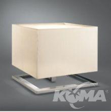 Quadratus lampa stolowa 2x75W/E27 bialy