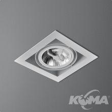 Squares 111x1 oprawa wpuszczana biała mat 1x100W ES111 230V