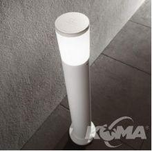 Lampa stojąca amelia pt1 1x23W e27 IP55 biała