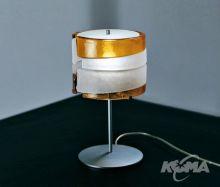 Riflessi lampa stolowa 1x60W E14 bursztynowy