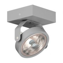 Zeta reflektor 1x100W G53 12V srebrny aluminiowy mat