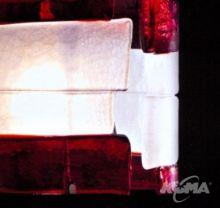 Riflessi lampa stolowa 1x100W E27 czerwona