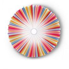 Muse plafon 1x60W E27 230V multicolor