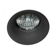 Ivo lampa wpuszczana 1x50WGU5\.3 |GU5\.3 |GU5\.3 |GU5\.3 | MR16 12V czarna