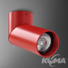 Rotto reflektor GU10 1x50W 230V czerwony mat