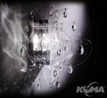 Lillibet kinkiet 1x25W E14 transparent