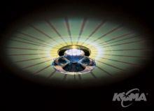 Oprawa stropowa crystal atlas ab 12V 35W