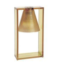 Light air lampa stołowa 1x5W E14 32cm bursztynowy