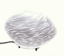 Argo lampa stolowa 23cm E14 1x60W E27 biale smugi