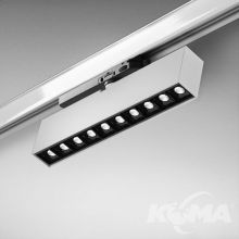 Rafter_Points_27_track reflektor na szynoprzewód 22W LED 2700K 37° 230V biały struktura + czarny