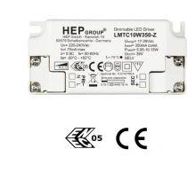 Hep sterownik fazowy LED 17-29v  350mA z funkcją ściemniania fazowego