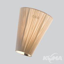 Abażur do lampy podłogowej Oslo Wood beżowy