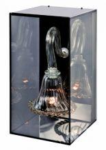 Curiosity cabinet kinkiet crystal/gold down 1x40W E14