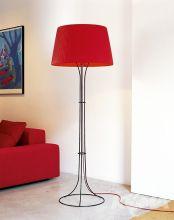 Naomi lampa podlogowa e27/150W czarna