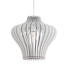 Cossano 2 lampa wisząca 1x60W E27 230V biała