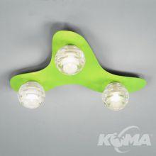 Dali lampa sufitowa 3x40W G9 230V zielona