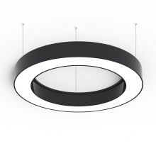 Alberta lampa wisząca 65cm 57W LED 230V czarna DIMM