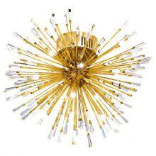 Vivaldo lampa sufitowa 19x1,2W G4 230V złota