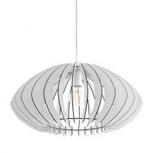 Cossano 2 lampa wisząca 50cm 1x60W E27 230V biała