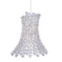 Bloom lampa wisząca 9x33W G9 230V kryształowa/transparentna