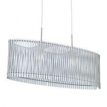 Sendero lampa wisząca 2x60W E27 230V biała