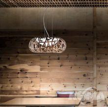 Maggio lampa wisząca brąz miedziany 17W LED 1700lm 2700k