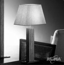 Tau madera lampa stolowa 1x60W E27 wenge/len