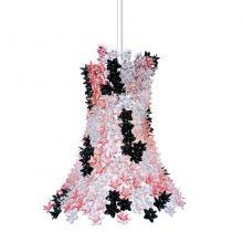 Bloom lampa wisząca 9x33W G9 230V różowo-czarna