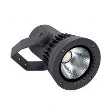 Reflektor natynkowy 11,5W led 3000K IP65 ciemny szary