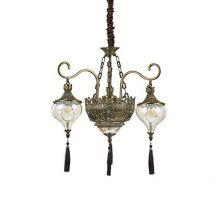 Harem SP5 lampa wisząca 5x60W E27 patyna