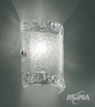 Amalfi kinkiet 1x75W G9 silver