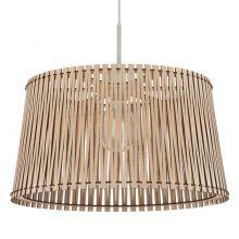 Sendero lampa wisząca 45cm 1x60W E27 230V jasny brąz