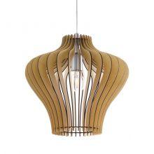 Cossano 2 lampa wisząca 1x60W E27 230V brąz/nikiel