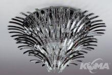 Kristal plafon 26x20W G4 d105cm chrom