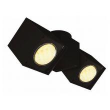 Vasto lampa sufitowa reflektor 2x50W GU10 230V czarny