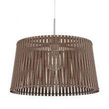 Sendero lampa wisząca 45cm 1x60W E27 230V brązowa