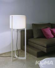 Nirvana lampa podlogowa E27/150W ivory/kremowy abazur