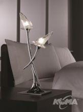 Flavia lampka 2x60W/G9 chrom