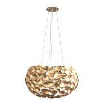 Carerra Gold lampa wisząca 6x7W G9 230V złota
