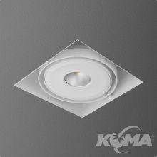Squares lampa wpuszczana 9.1W LED 230V biała (mat) CRI>80