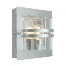 Bern kinkiet zewnętrzny 1x46W E27 230V ocynk/transparentny klosz