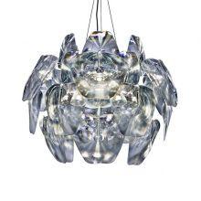 3D lampa wisząca 3x40W E27 230V transparentna
