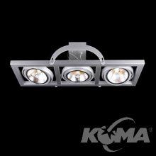 Optique S lampa sufitowa reflektor 3x50W QR111 G53 biała