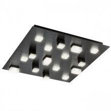 Piksel plafon sufitowy 48W led smd 3000K czarny anodowany