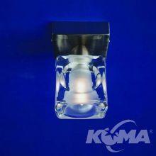 Cuadrax lampa sufitowa 1x60W G9 230V nikiel mat