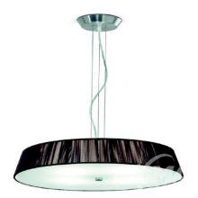 Lilith s 55 lampa wisząca 4x57W E27 nikiel/brązowy