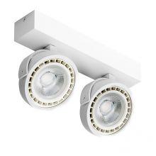 Jerry reflektor 2x15W LED ES111 230V biały DIMM